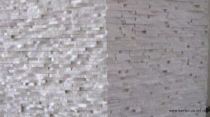 Prirodni beli dekorativni kamen