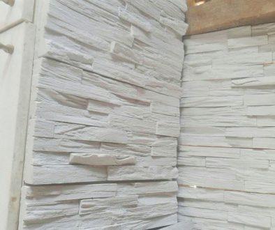 Beli dekorativni kamen od gipsa
